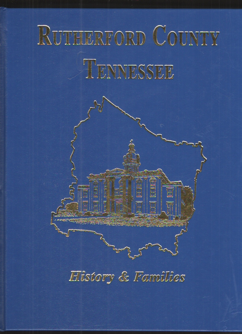 Image for Rutherford Co, TN History and Families