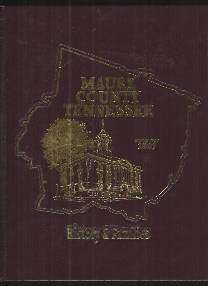 Image for Maury Co, TN History and Families