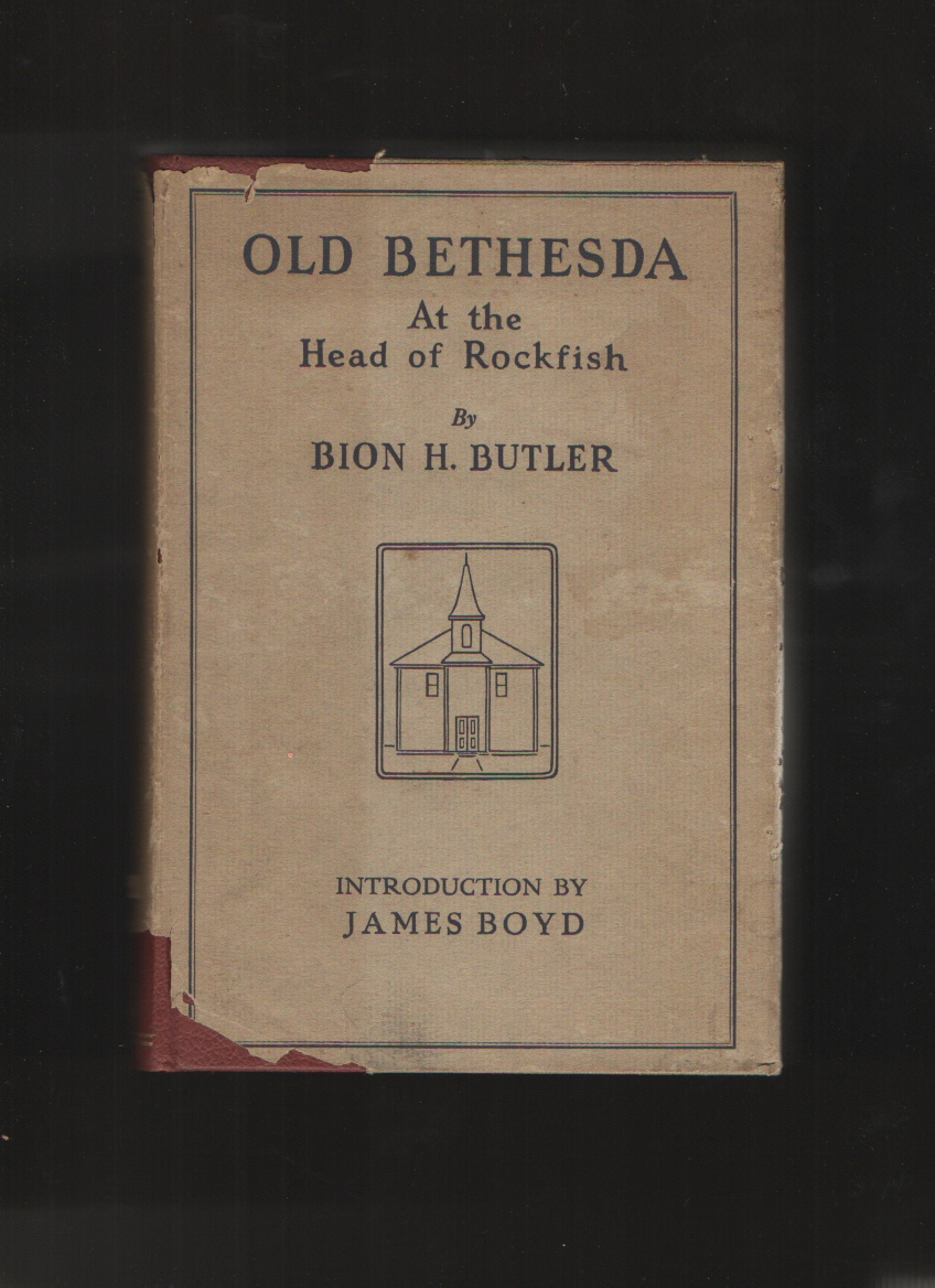 Old Bethesda At the Head of Rockfish, Butler, Bion H.