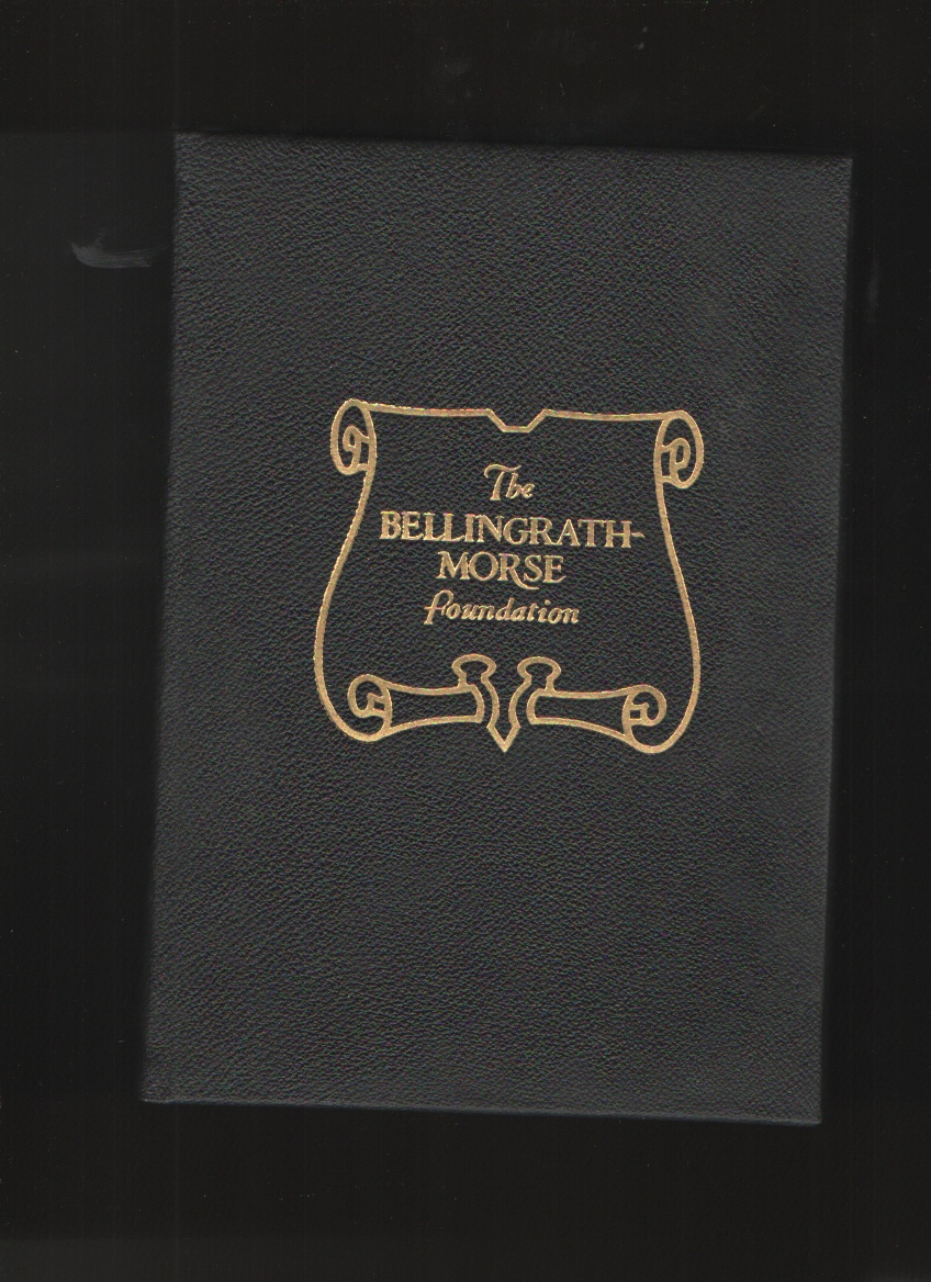 The Bellingrath-Morse Foundation, the Story of Bellingrath Gardens, Bellingrath, Walter D.