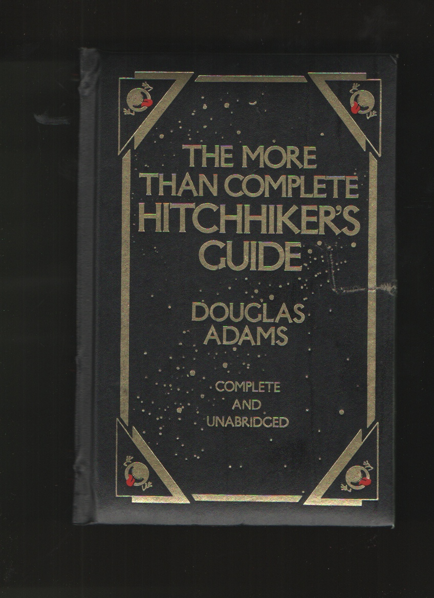 More Than Complete Hitchhiker's Guide  Complete & Unabridged, Adams, Douglas