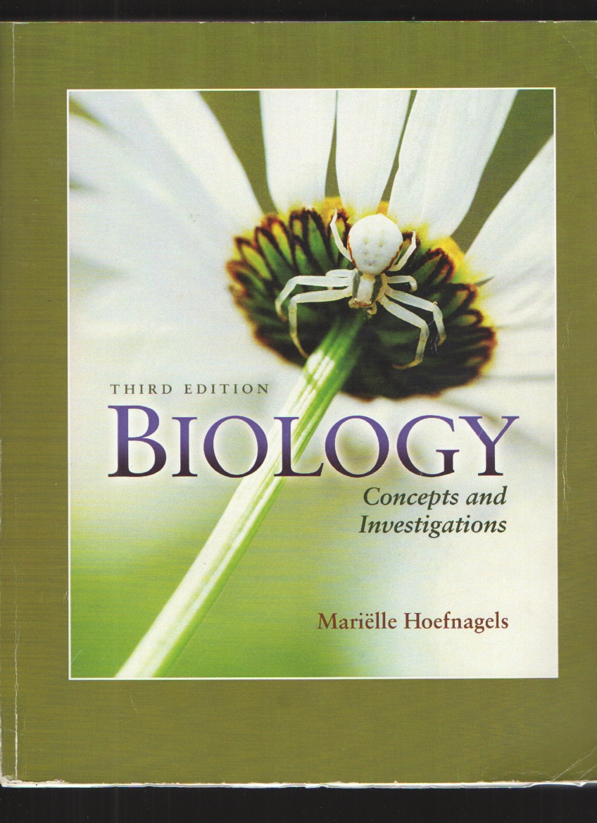Biology - Concepts and Investigations - 3rd edition