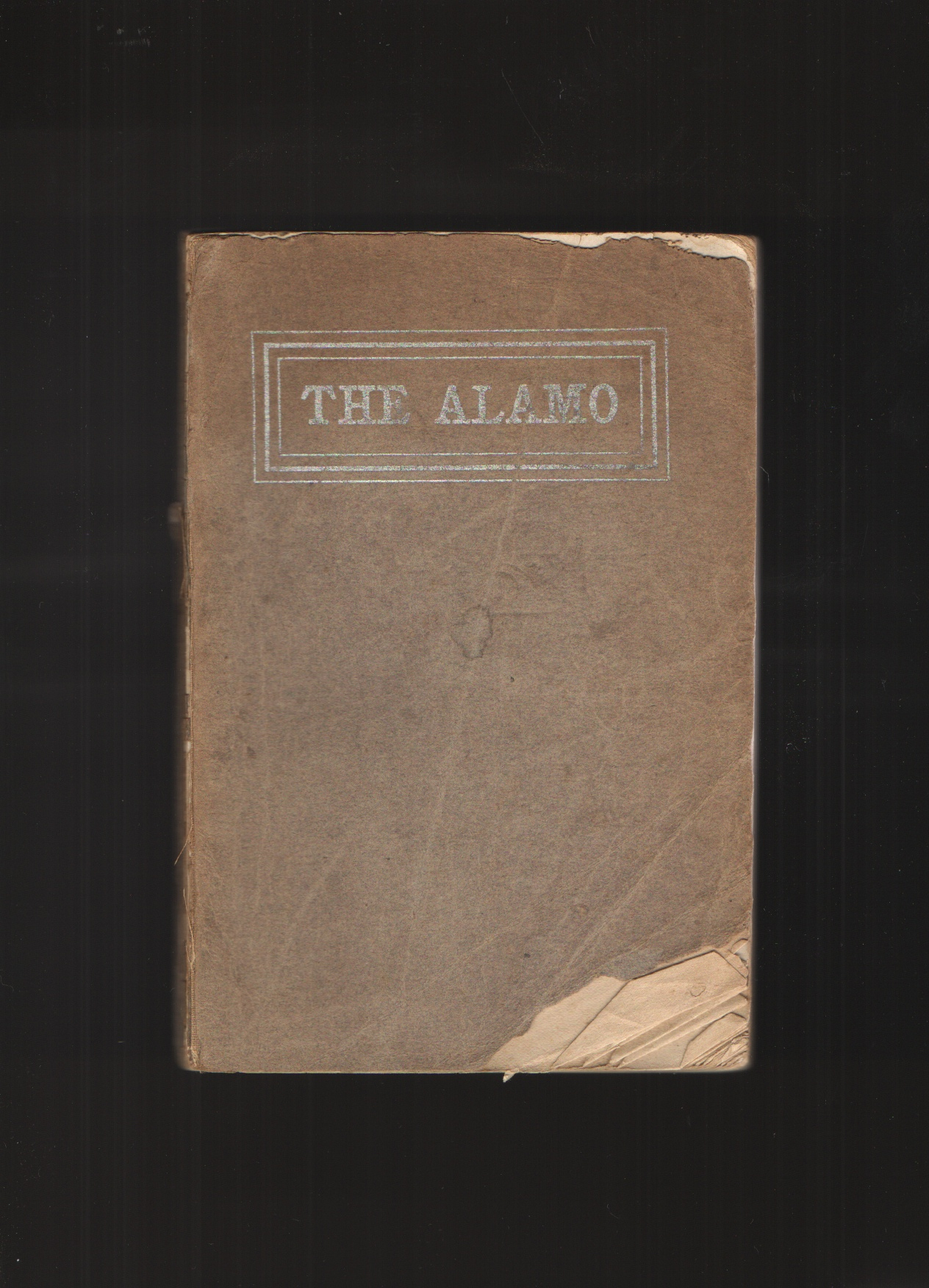Historical Sketch and Guide to the Alamo, Bennett, Leonora